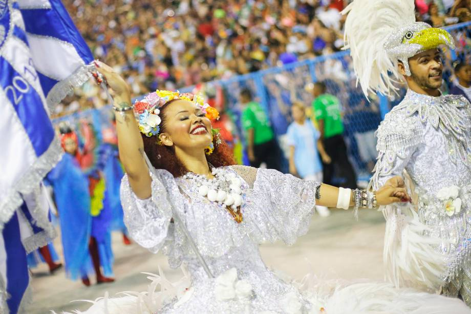 Portela é a terceira escola de samba a desfilar no Sambódromo da Marquês de Sapucaí - 05/03/2019