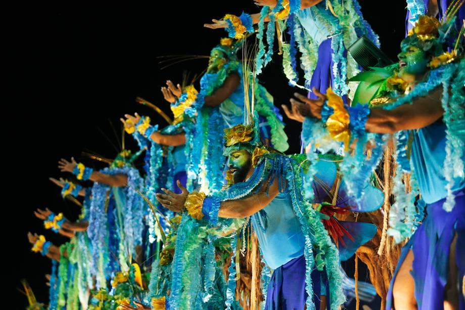 A escola de samba Portela é a terceira a desfilar na Marquês de Sapucaí - 05/03/2019