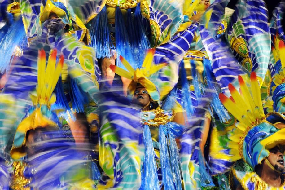Desfile da escola de samba União da Ilha no Sambódromo da Marquês de Sapucaí - 05/03/2019