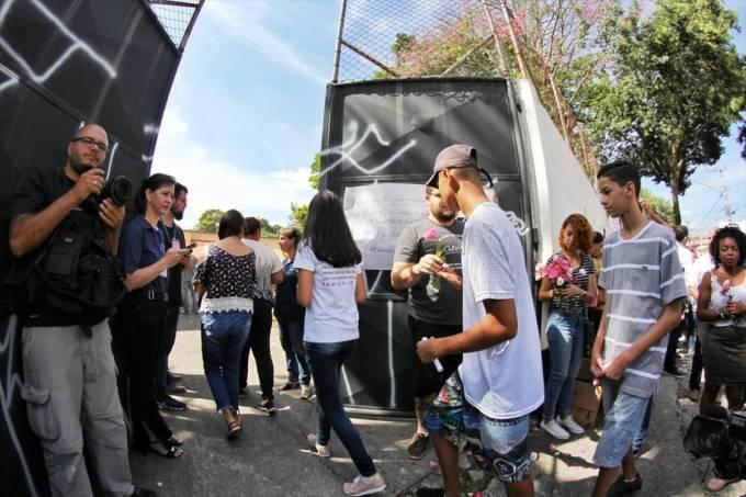 Reabertura da Escola Estadual Raul Brasil após o massacre
