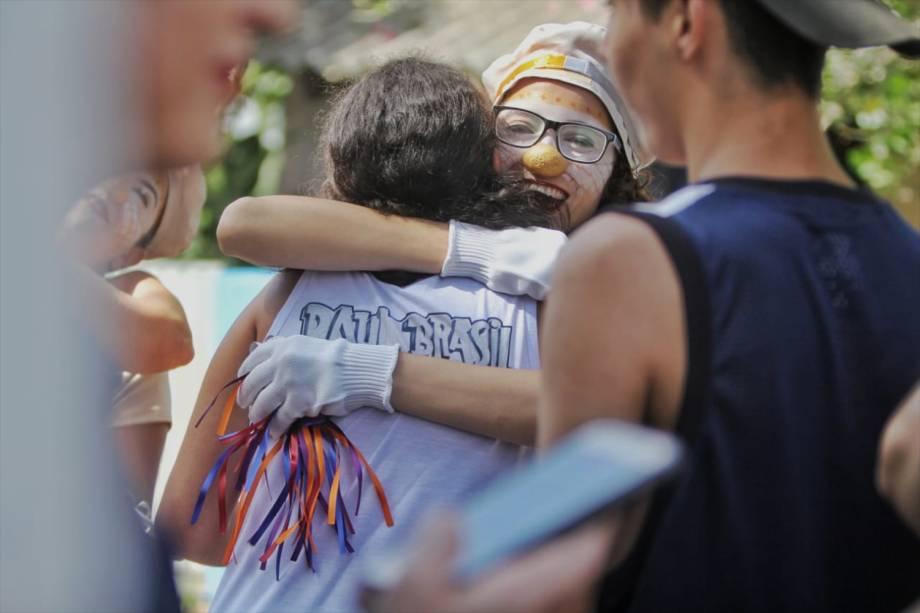 Movimentação de alunos durante a reabertura da Escola Estadual Raul Brasil após o massacre. Serão desenvolvidas atividades de acolhimento e atendimento psicológico - 19/03/2019