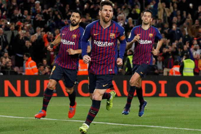 Campeonato Espanhol – Barcelona x Rayo Vallecano
