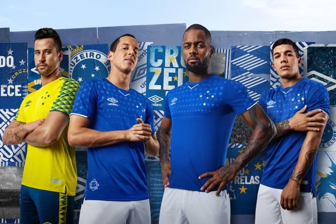 Cruzeiro anuncia novos uniformes para a temporada 2019