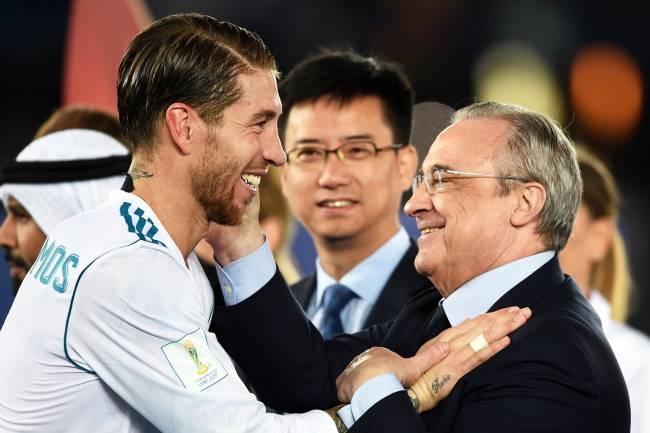 Presidente do Real, Florentino Pérez, principal voz da Superliga -