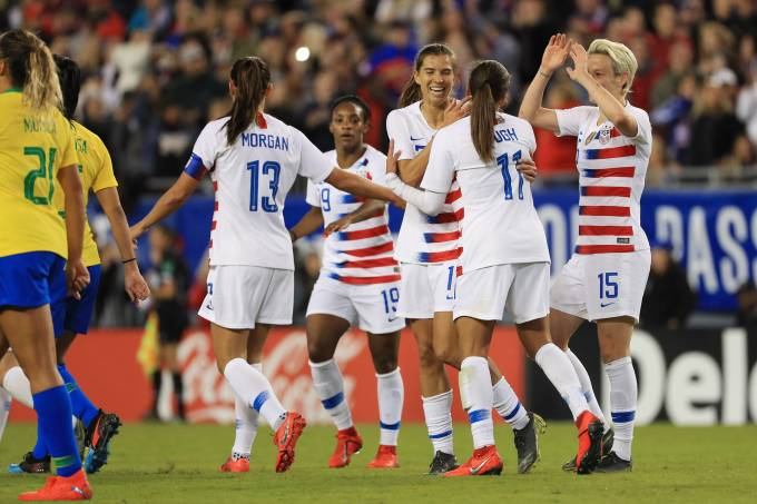 SheBelieves Cup – United States x Brazil