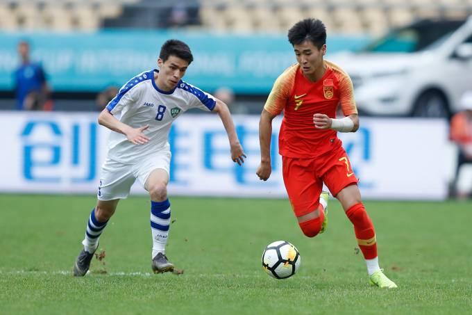 China vs Uzbequistão