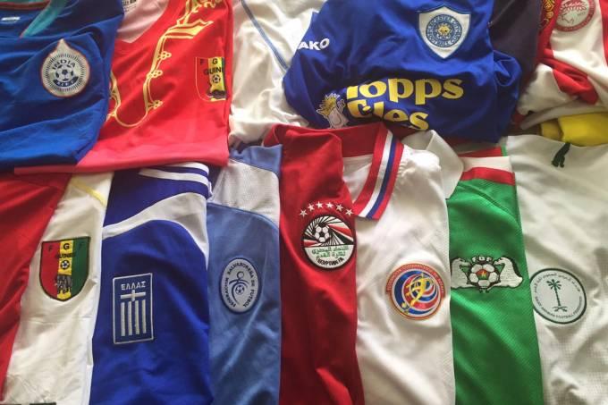Camisas da coleção de Adriano Lourenço