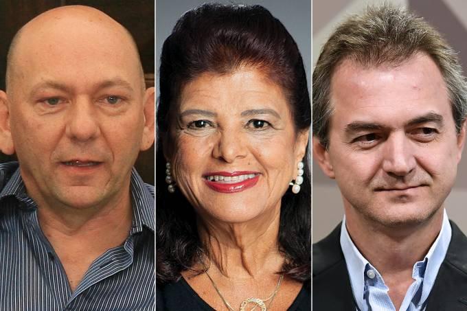 Luciano Hang, Luiza Trajano e Joesley Batista