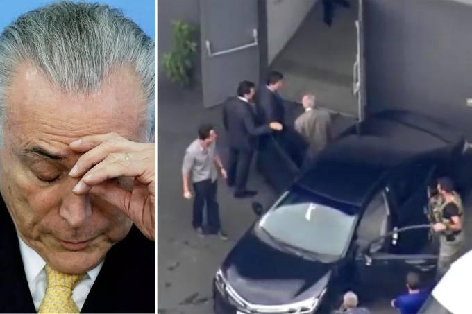 Ex-presidente Michel Temer é preso pela força-tarefa da Operação Lava Jato
