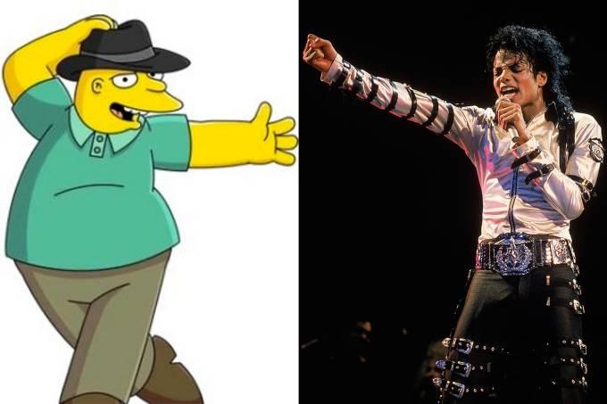 Leon Kompowsky e Michael Jackson