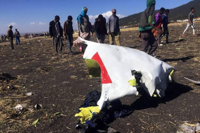 Queda de avião da Ethiopian Airlines