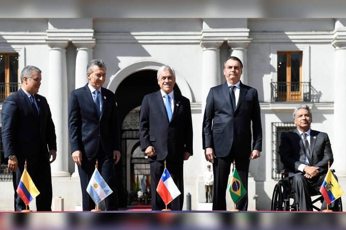 Cerimônia de Boas-Vindas aos Chefes de Estado