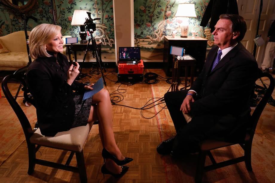 Presidente da República Jair Bolsonaro concede entrevista para Fox News - 18/03/2019
