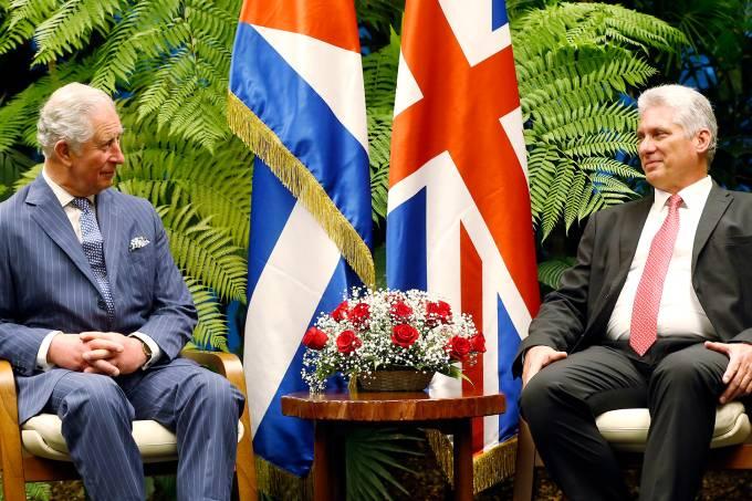 Príncipe Charles visita Cuba