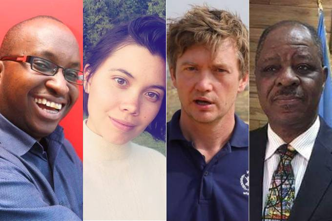 Vítimas acidente de avião na Etiópia