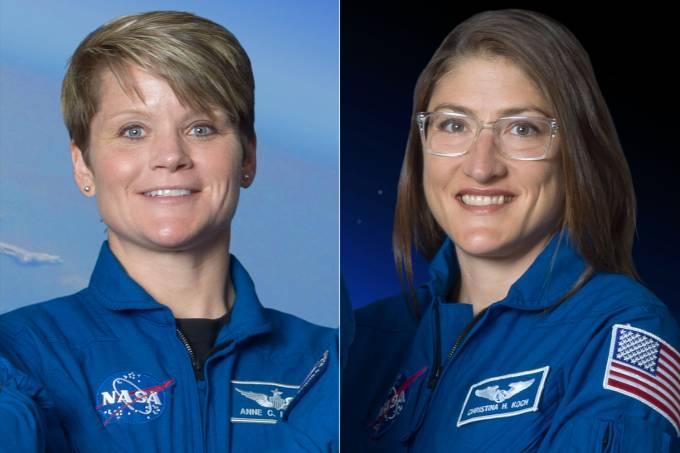 Nasa cancela 1ª caminhada espacial com mulheres por falta de traje adequado