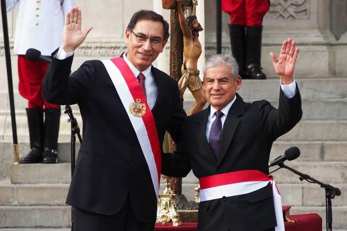 Martin Vizcarra e César Villanueva
