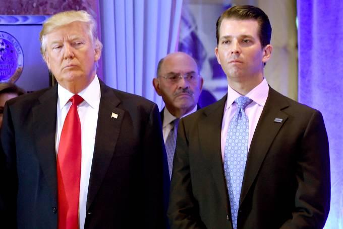 Donald Trump e Donald Jr.