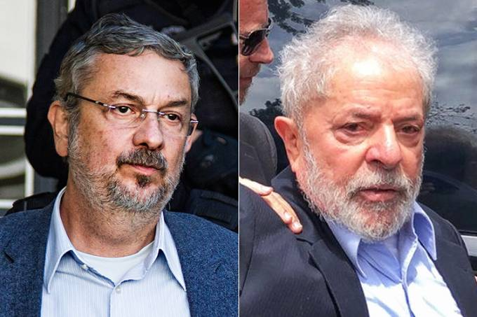 Antonio Palocci e Lula