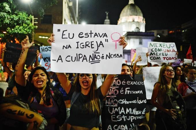 Protesto na Candelária