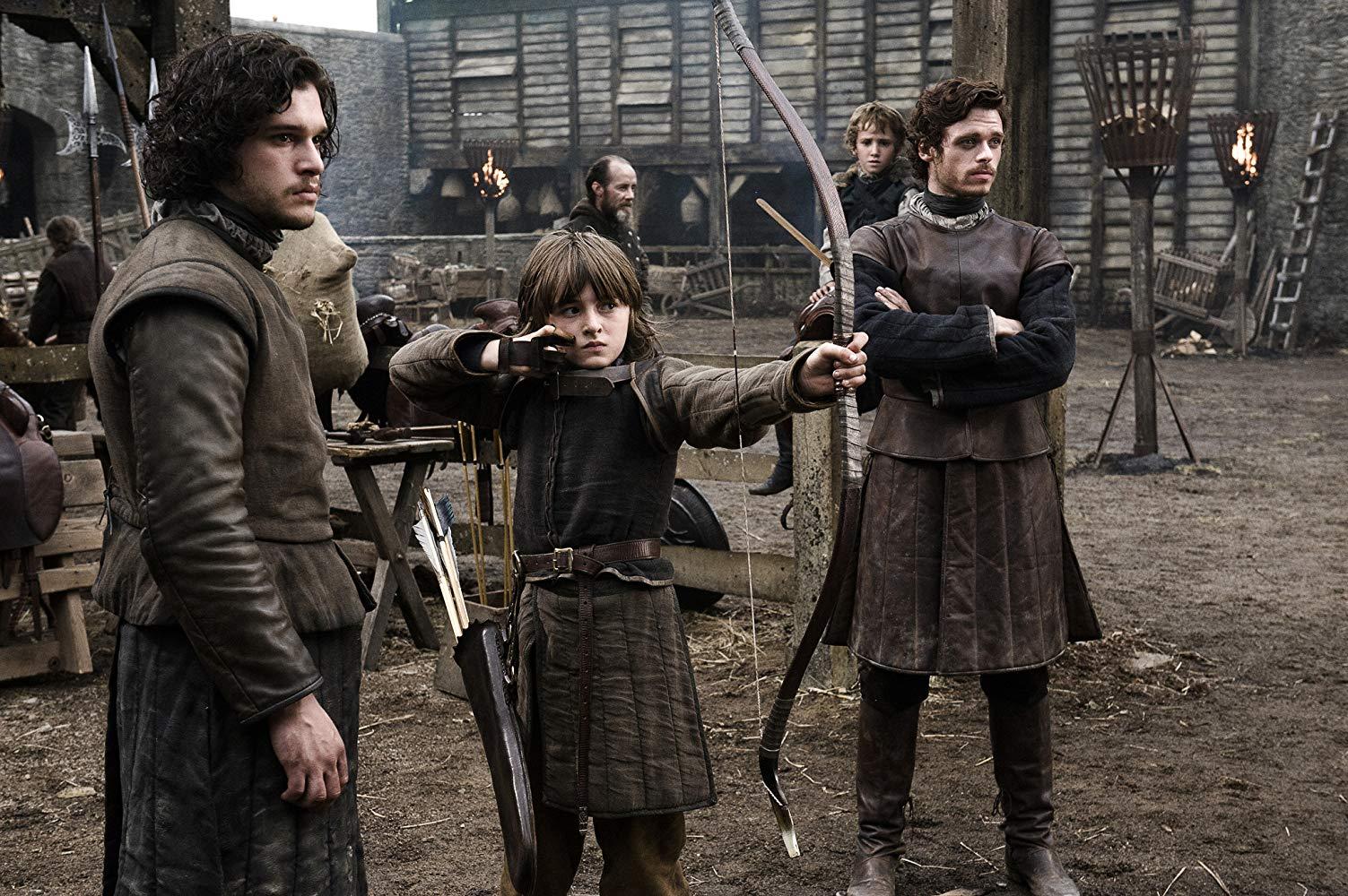 Cena do episódio 1 da temporada 1 de Game of Thrones