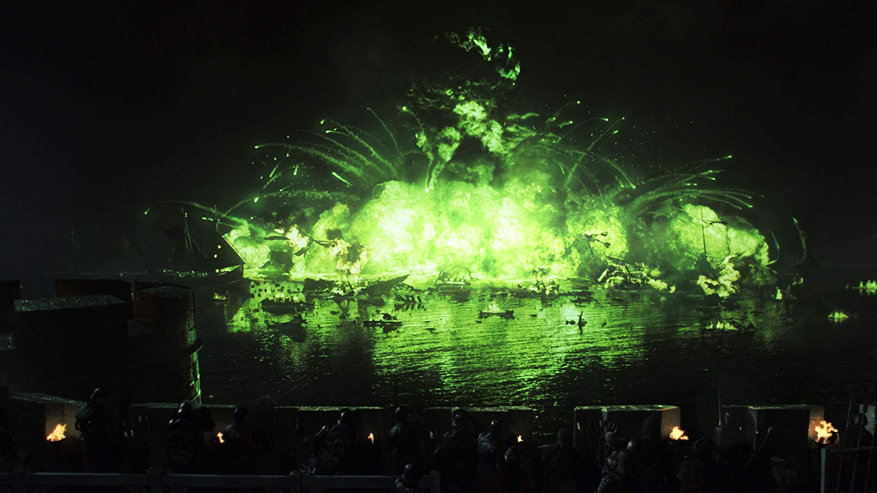 Cena do episódio 9 da temporada 2 de' Game of Thrones'
