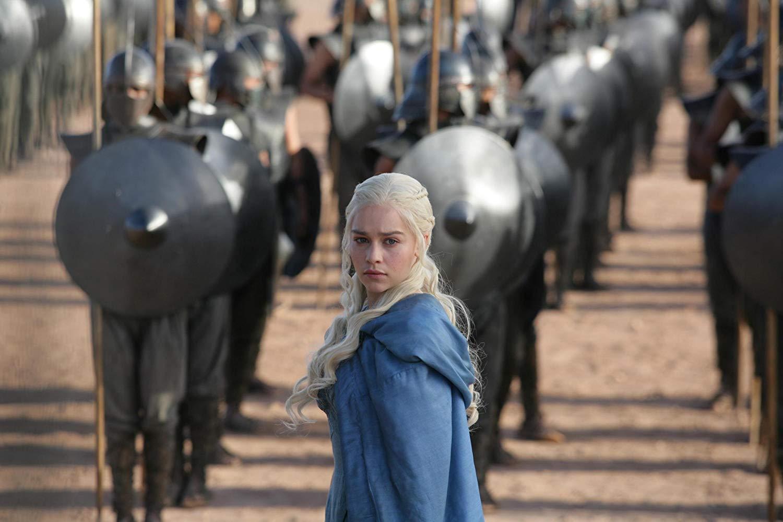 Emilia Clarke em cena do episódio 4 da temporada 3 de' Game of Thrones'