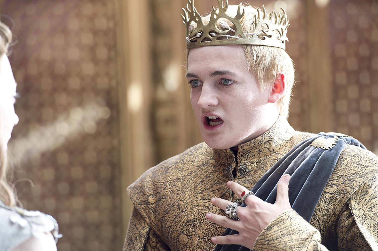 Jack Gleeson em cena do episódio 2 da temporada 4 de' Game of Thrones'