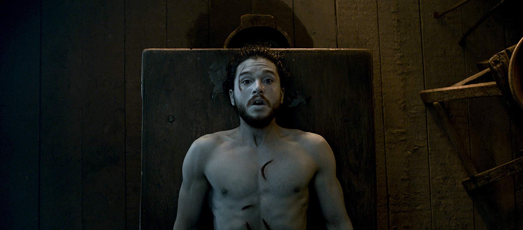 Kit Harrington em cena do episódio 2 da temporada 6 de' Game of Thrones'