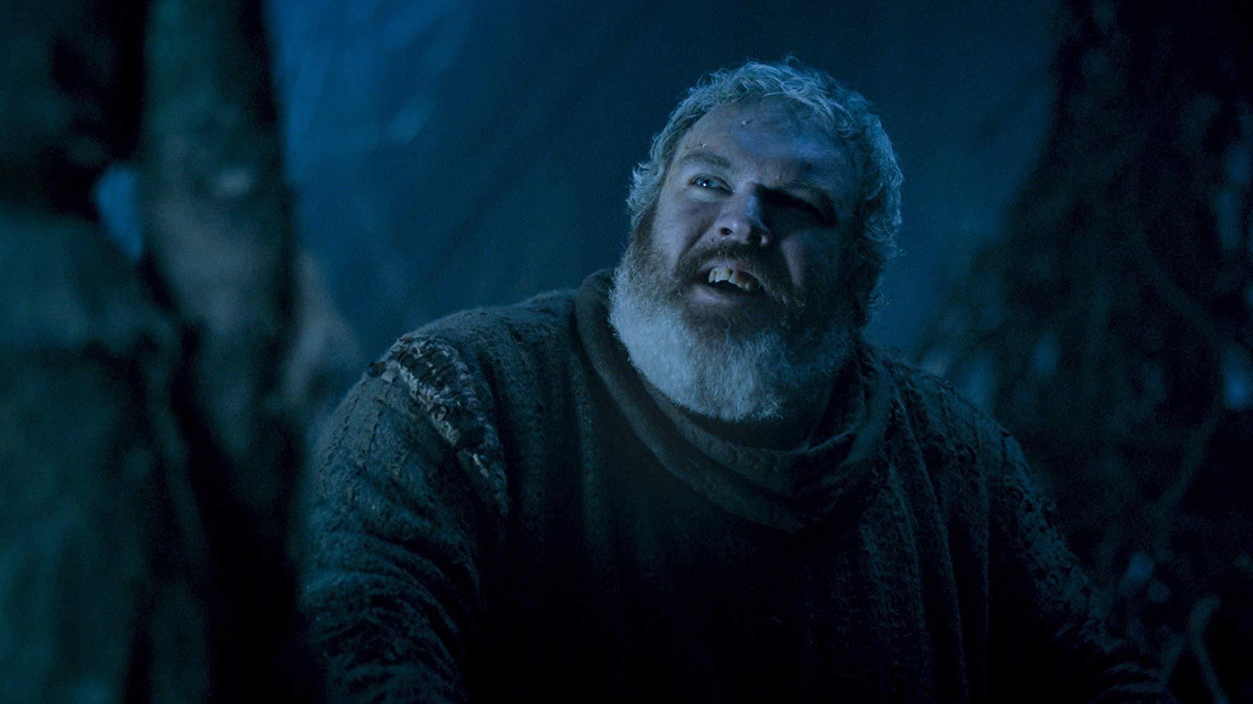 Kristian Nairn em cena do episódio 5 da temporada 6 de 'Game of Thrones'