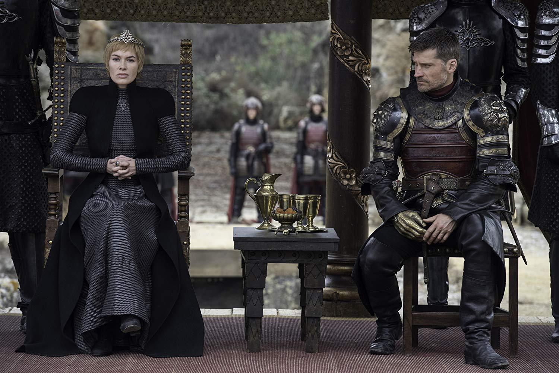 Lena Headey e Nicolaj Coster-Waldau em cena do episódio 7 da temporada 7 de 'Game of Thrones'