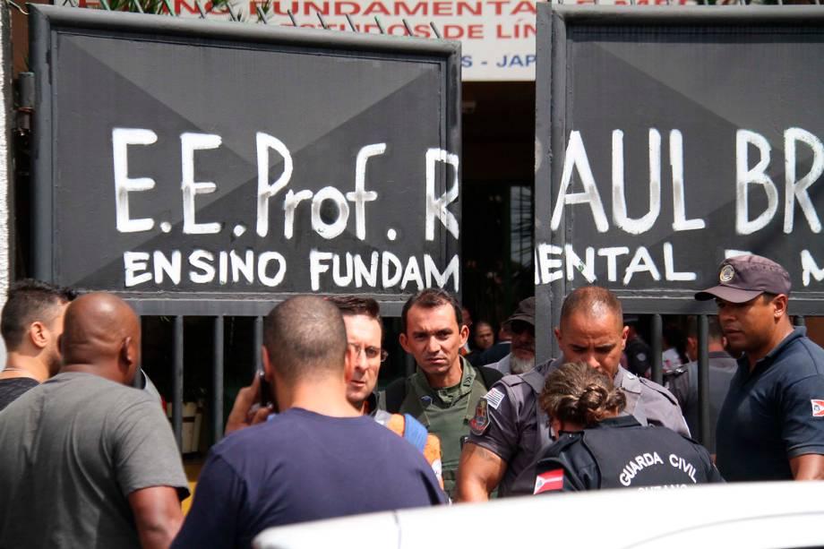 Adolescentes atiram dentro da Escola Estadual Raul Brasil, de Suzano (SP), e matam 6 pessoas - 13/03/2019