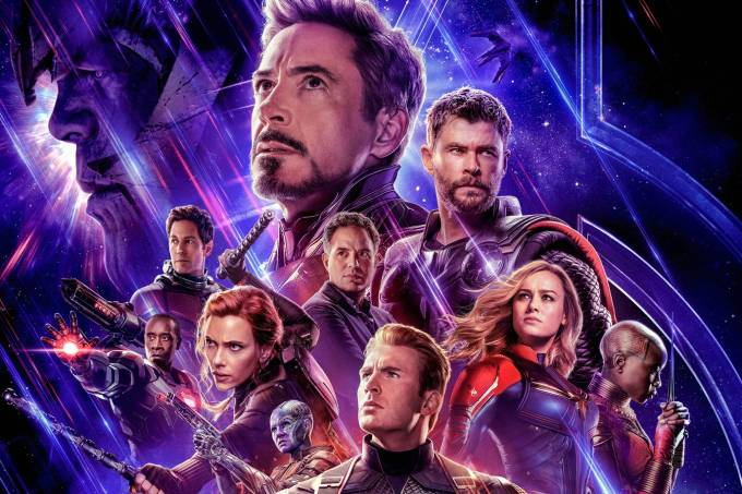 Pôster de 'Vingadores: Ultimato', último filme da 'Saga do Infinito' no Universo Cinematográfico Marvel