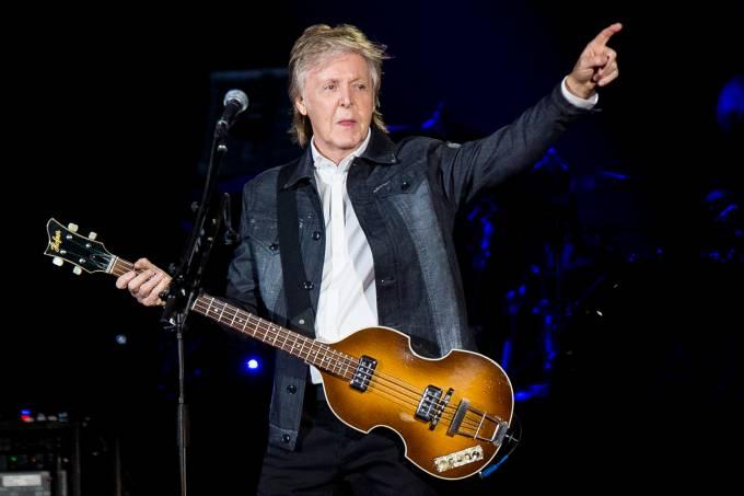 Paul McCartney se apresenta em Sao Paulo