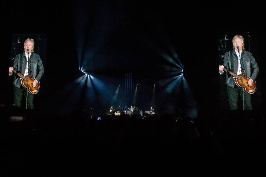 O cantor e compositor Paul McCartney se apresenta na turnê 'Freshen Up' no Allianz Parque, Zona Oeste de Sao Paulo - 26/03/2019