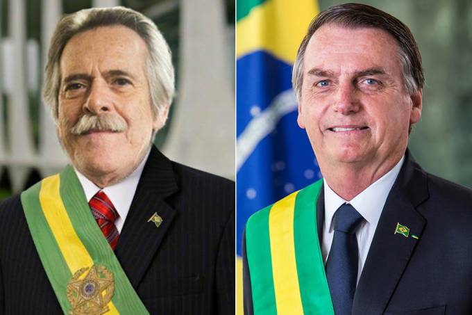 Zén de Abreu e Jair Bolsonaro