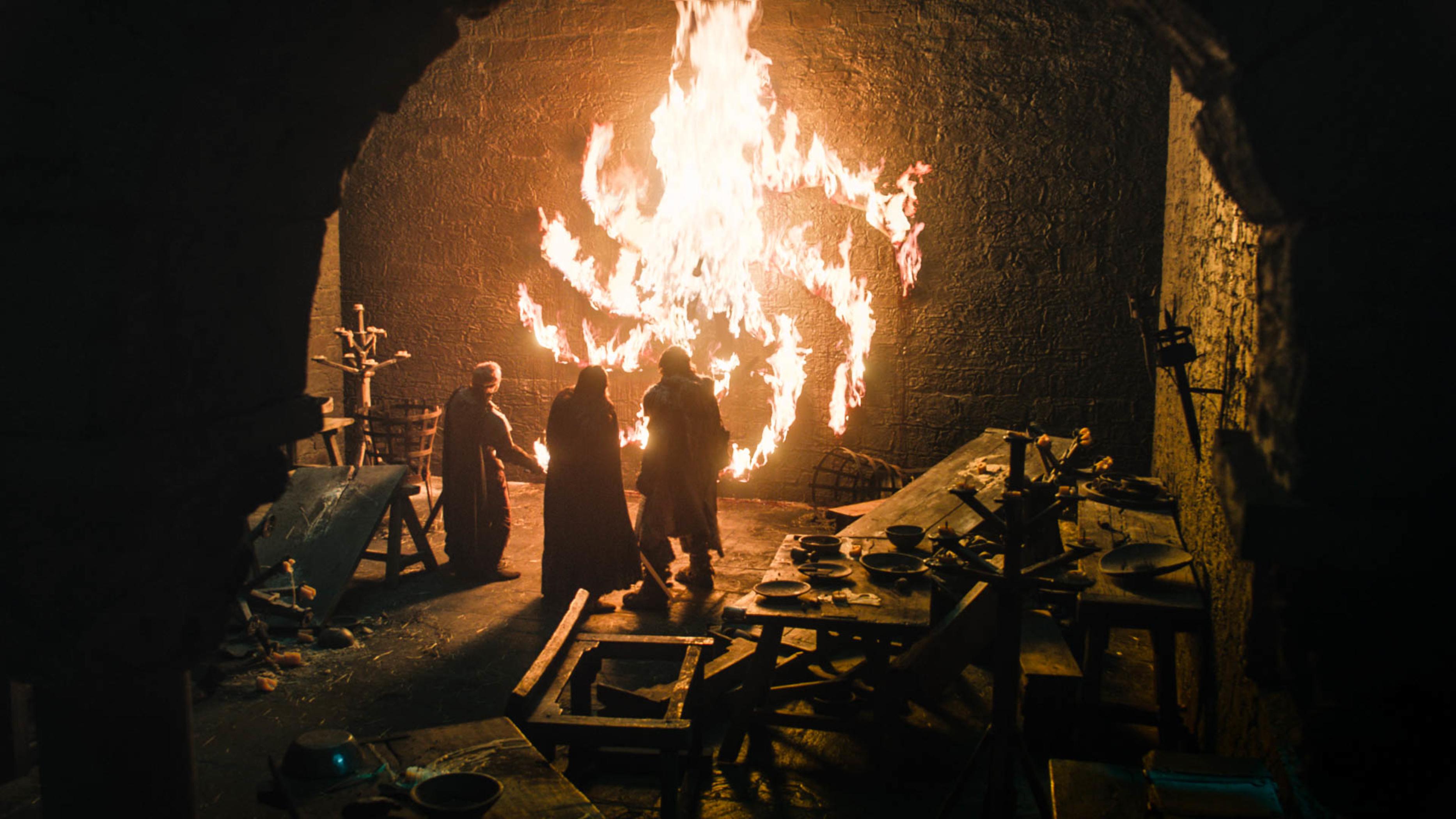 Cena da oitava temporada de 'Game of Thrones' faz referência ao primeiro episódio da série