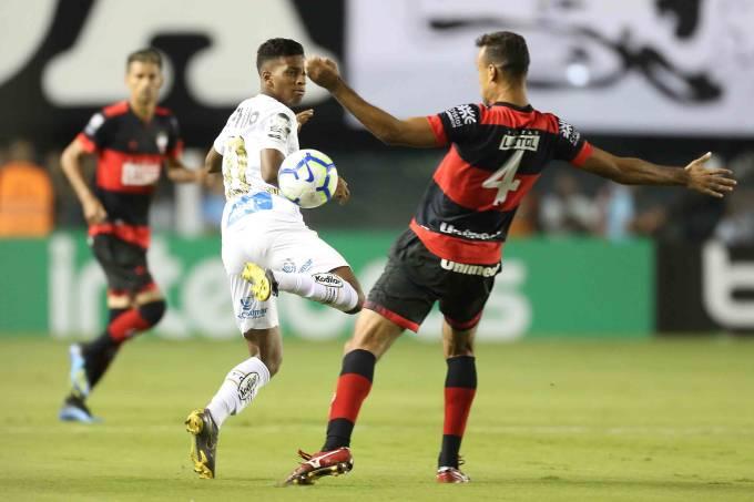 Copa Do Brasil Santos Bate Atletico Go No Jogo De Volta E Se Classifica