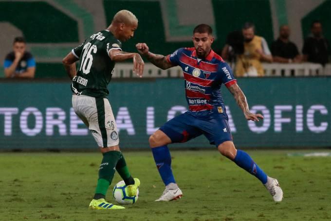 Palmeiras e Fortaleza jogam pela 1ª rodada do Brasileiro