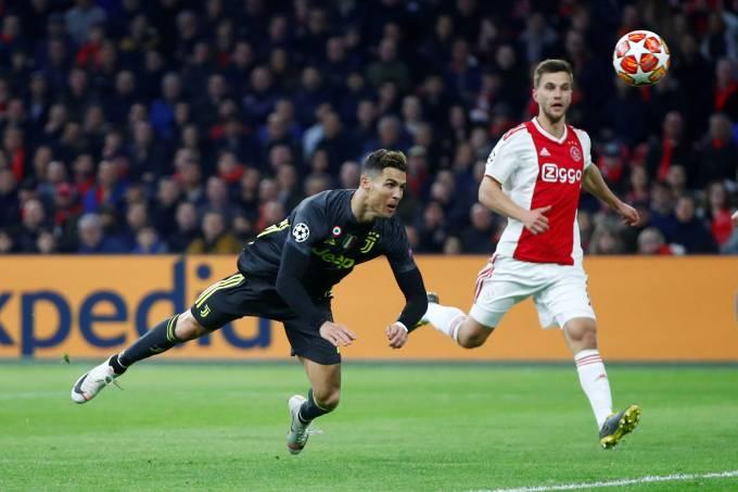 Liga dos Campeões Cristiano Ronaldo Ajax Juventus