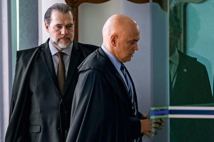 Alexandre de Moraes e Dias Toffoli