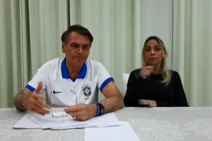 Live de Jair Bolsonaro no Facebook