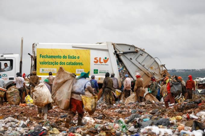 Aterro sanitário – Lixão