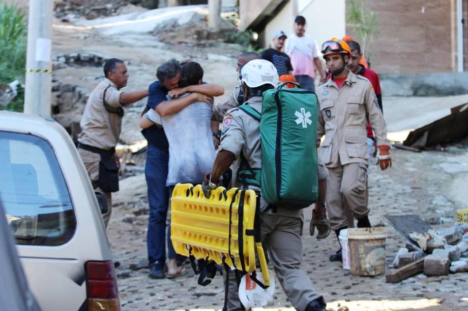 Dois prédios desabaram na Muzema, comunidade na zona oeste do Rio de Janeiro - 12/04/2019