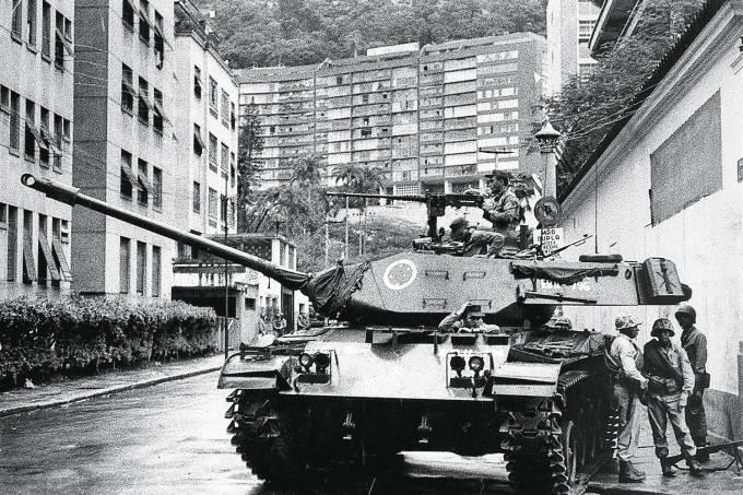 Tanque de guerra – Golpe militar de 1964