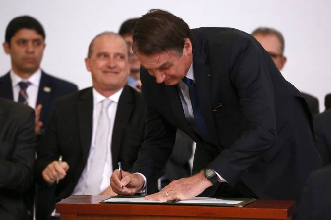 Solenidade 100 Dias de Governo Bolsonaro