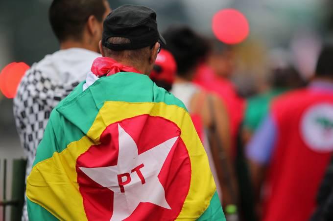 Protestos a favor de Lula