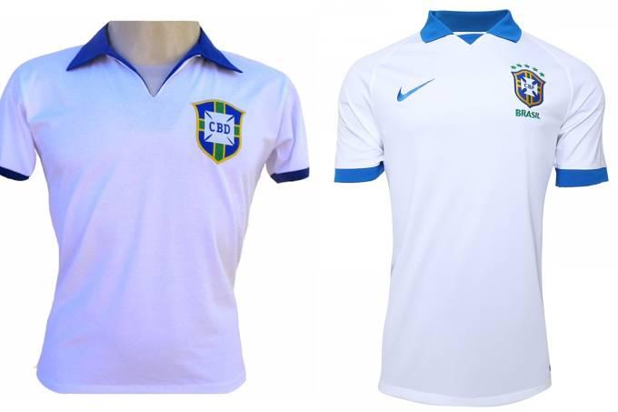 Camisa branca da Seleção Brasileira