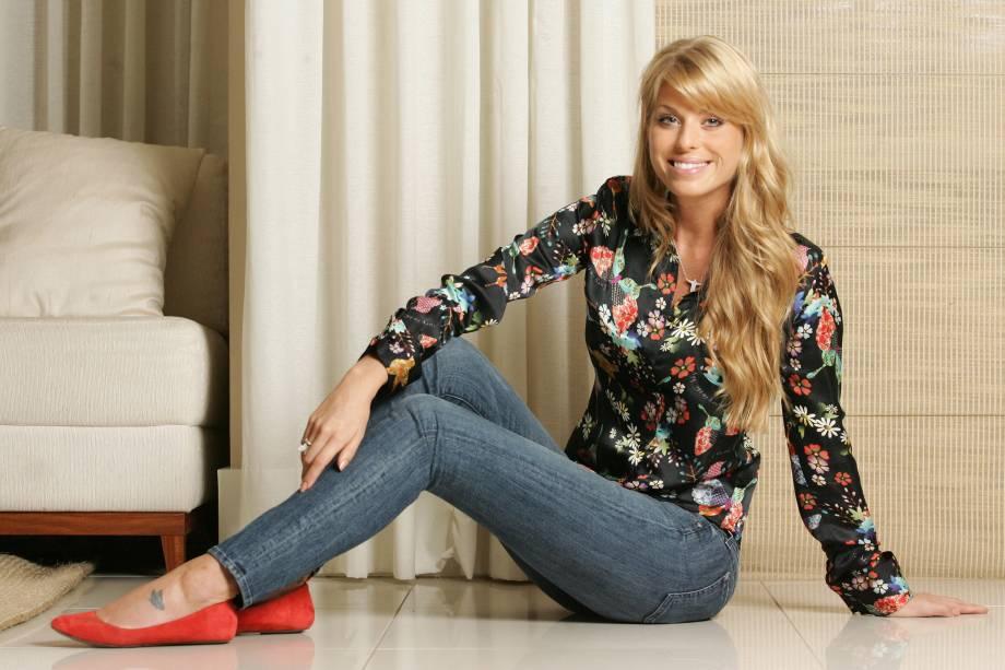 A modelo Caroline Bittencourt