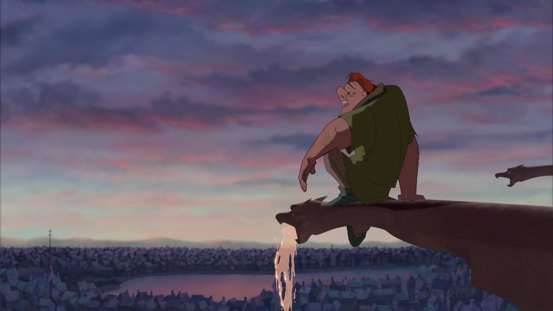 Cena de 'O Corcunda de Notre Dame', animação da Walt Disney de 1996